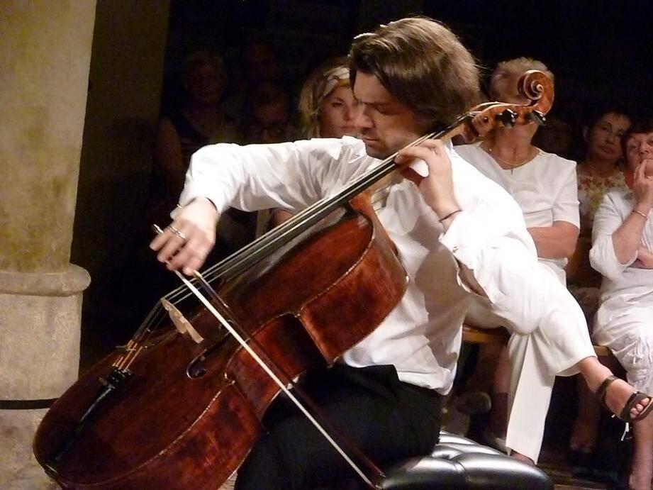 Gautier Capuçon en ouverture des Heures Musicales. (DR)