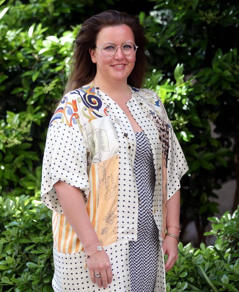 Frédérique Morra, une jeune femme engagée et qui inscrit la Fondation François-Xavier Morra dans la durée.