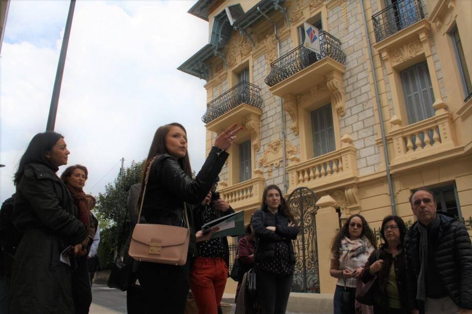 Visite guidée à deux voix au départ de la villa Alexandrine.