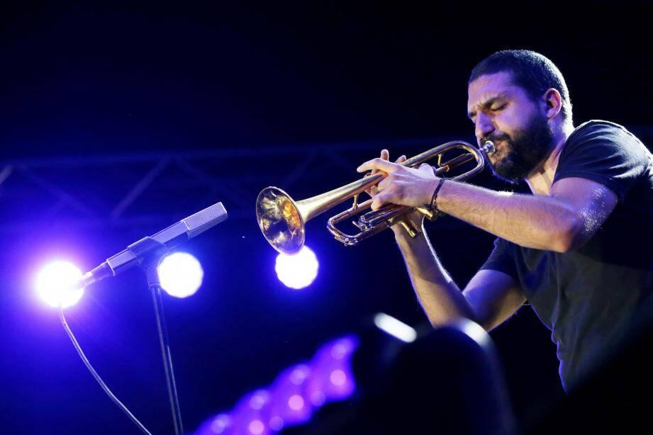 Deux ans que le trompettiste Ibrahim Maalouf ne s'est plus produit à Monaco.(Archives NM)
