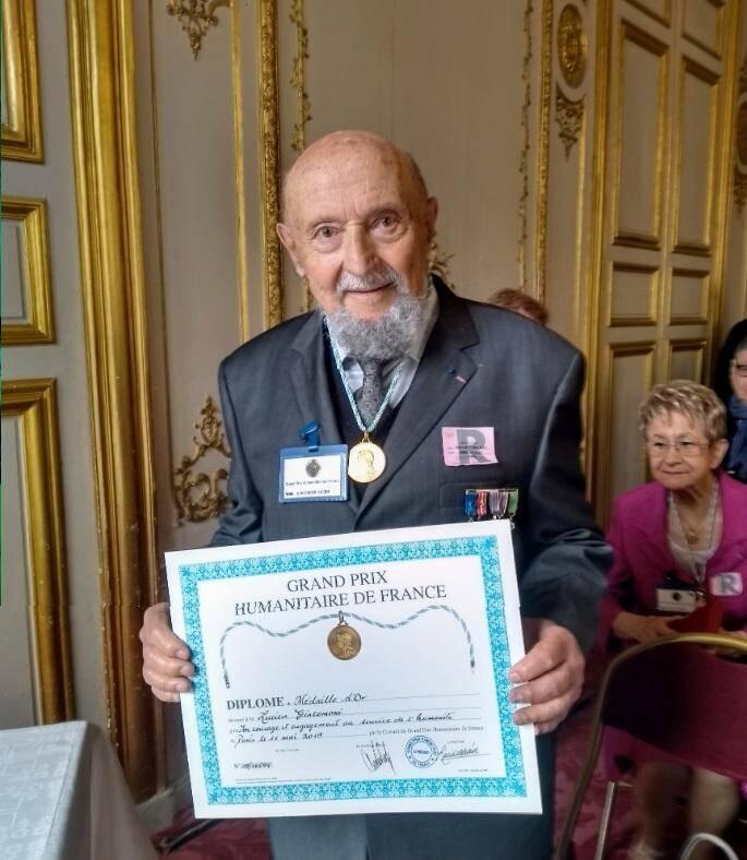 Le docteur Lucien Giacomoni, un médecin hors du commun.(DR)