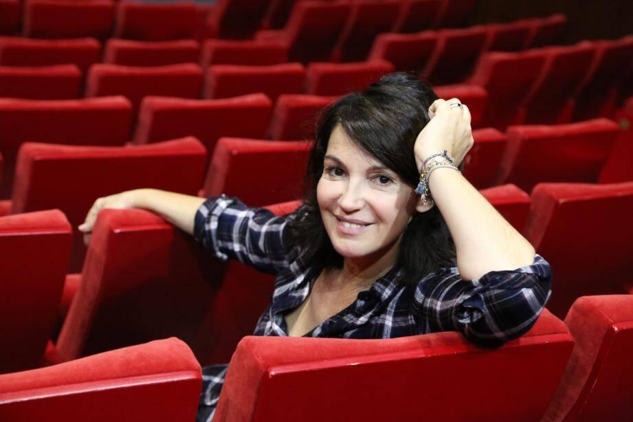 « J'aime énormément le public niçois, a-t-elle confié. C'est celui que je connais le mieux avec le public lyonnais. »