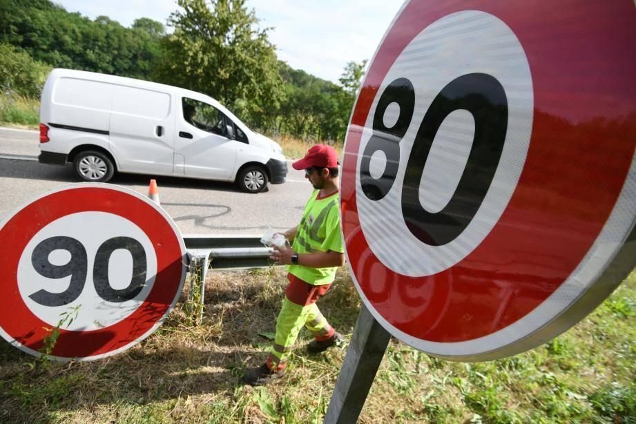 Le président de la Métropole considère que le passage à 80 km/h « était une erreur ».
