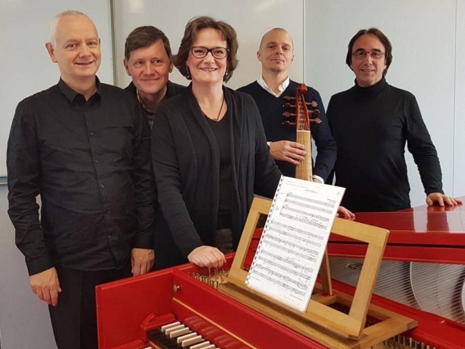 L'ensemble baroque « Prima la Musica ».(DR)