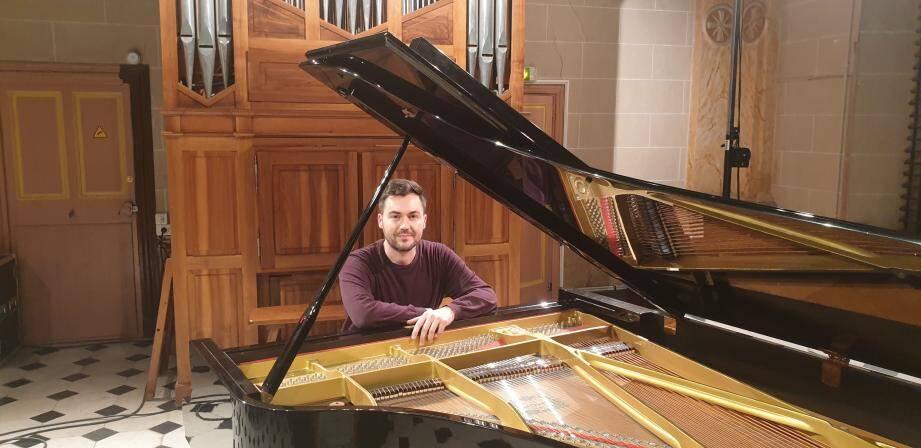 Le pianiste conclut les concerts de la Visitation, demain à 18 h 30, à la chapelle éponyme.