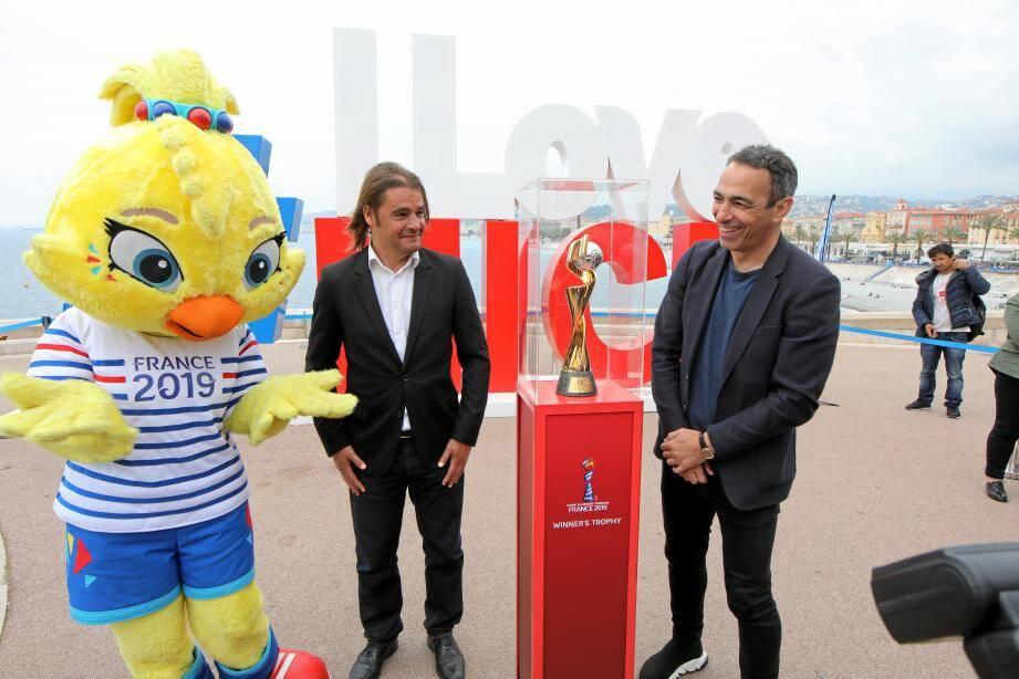 C'est à Rauba Capeù que la Coupe du monde a été présentée au public.