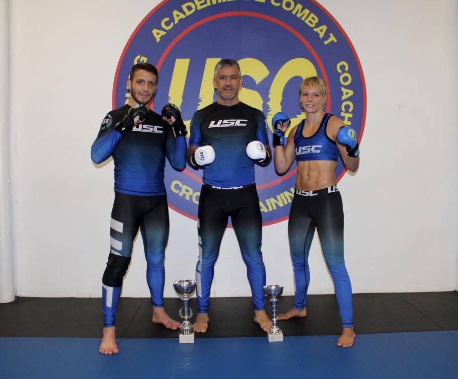 Antoine Barbier, Jacky Ruidavet et Alice Michalkiewicz. (DR)