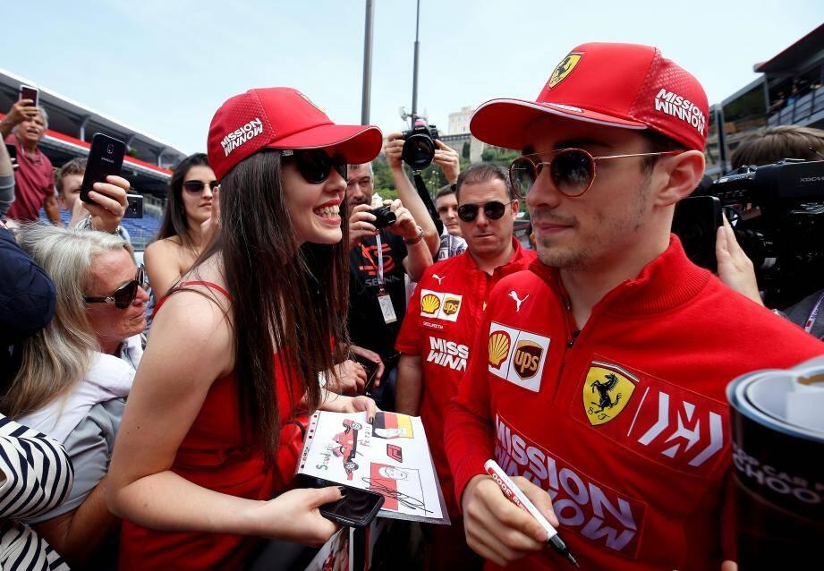 Carine, fan de Ferrari depuis toujours.