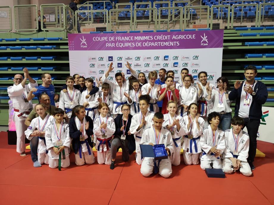 L'OJN, Carros Judo, le Stade Laurentin, Racing Judo Nice et l'ASBTP Nice, entre autres clubs, étaient représentés sur cette compétition.
