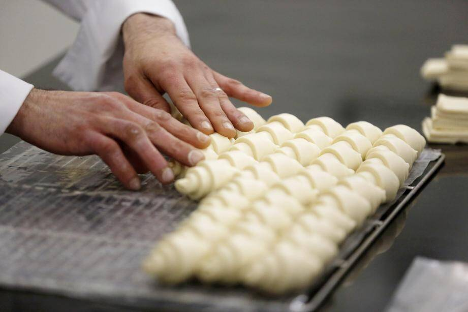 Le pôle sucré produit environ 600 croissants par jour. Le chiffre a quadruplé pendant le Grand Prix.