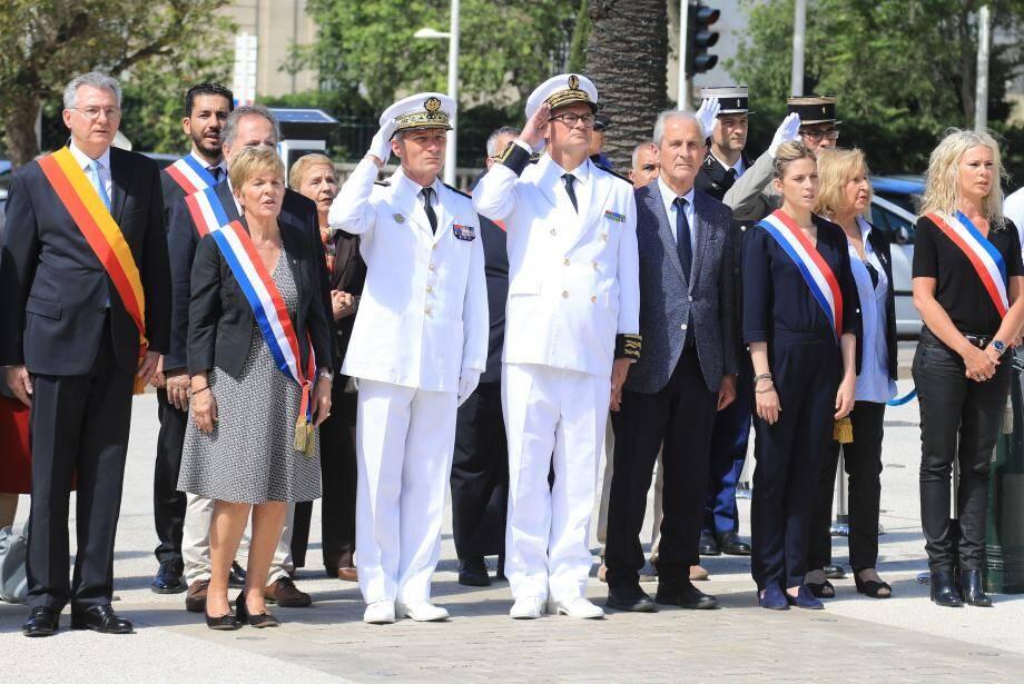 A Toulon, la Journée nationale de la Résistance a été commémorée devant le monument aux morts de la place Gabriel Péri.