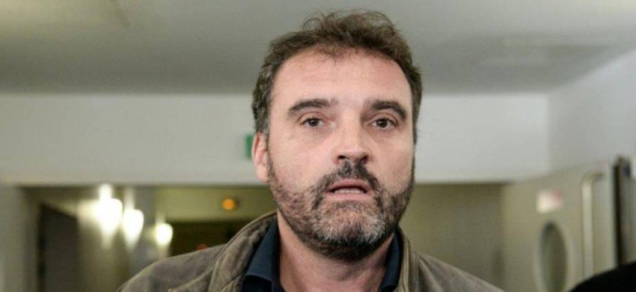 Frédéric Péchier, médecin-anesthésiste de Besançon, le 29 mars 2017, au tribunal de Besançon.