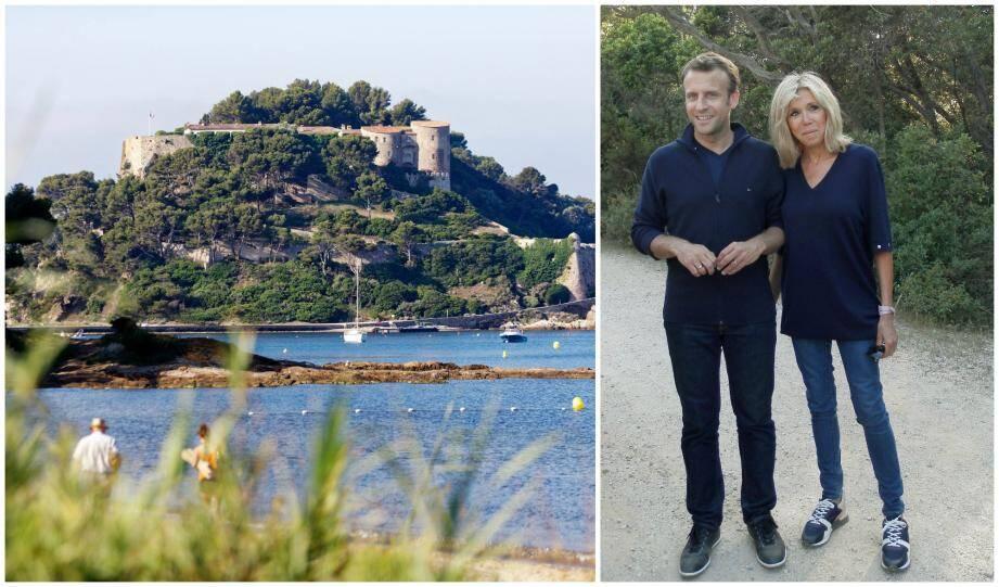 Le couple Macron s'est rendu sur l'île de Porquerolles lors de ses précédents séjours dans le Var.