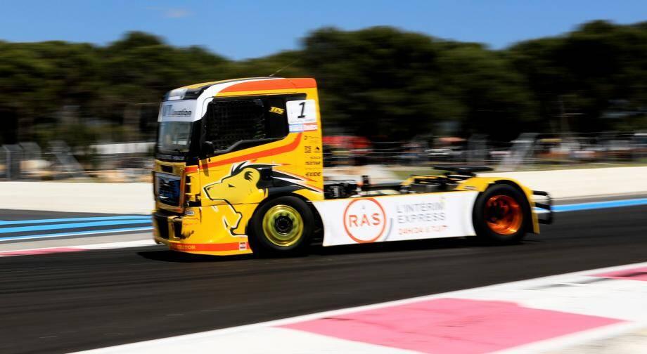 La découverte Circuit Paul Ricard à bord du camion du champion 2018, sensations fortes garanties.