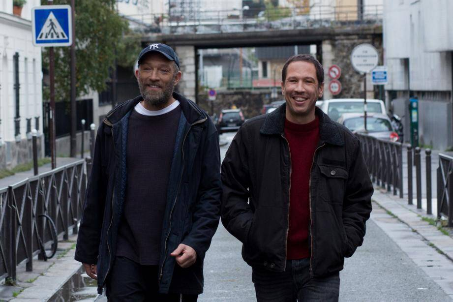Vincent Cassel et Reda Kateb dans le film Hors Normes.