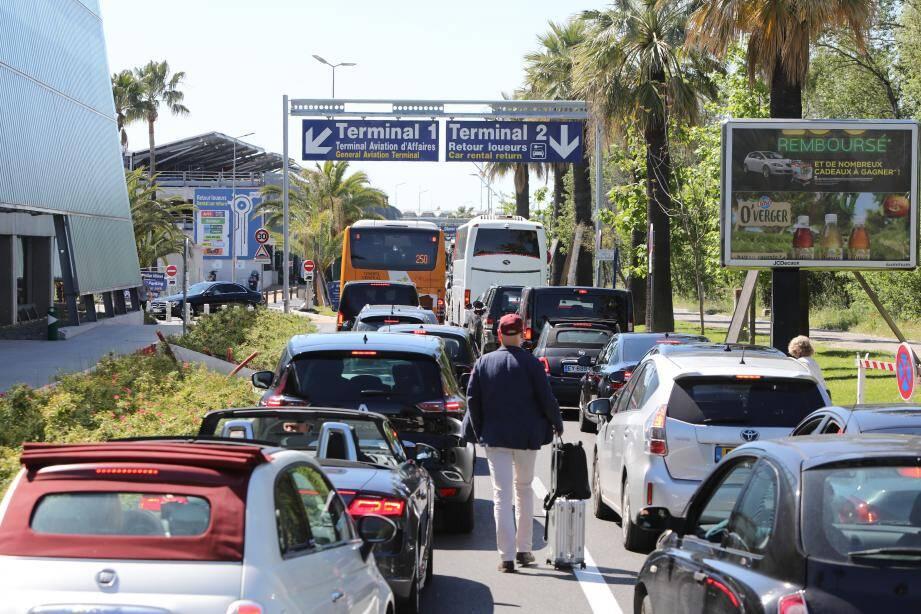 Les blocages avaient provoqué une belle pagaille à l'aéroport de Nice mardi et mercredi.