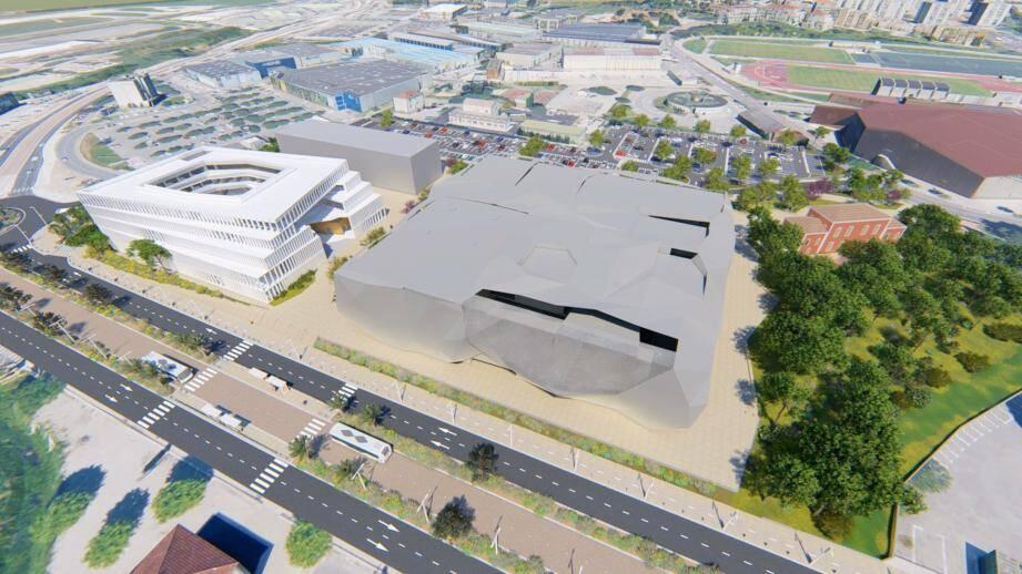 Projet attendu (mais il n'est pas le seul) dans ce secteur : l'aménagement de Bastide Rouge avec l'université qui doit ouvrir en septembre, le cinéma et la pépinière d'entreprises.