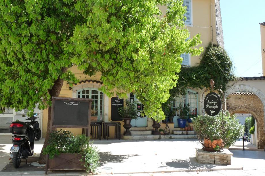 L'Auberge provençale, à La Colle-sur-Loup.