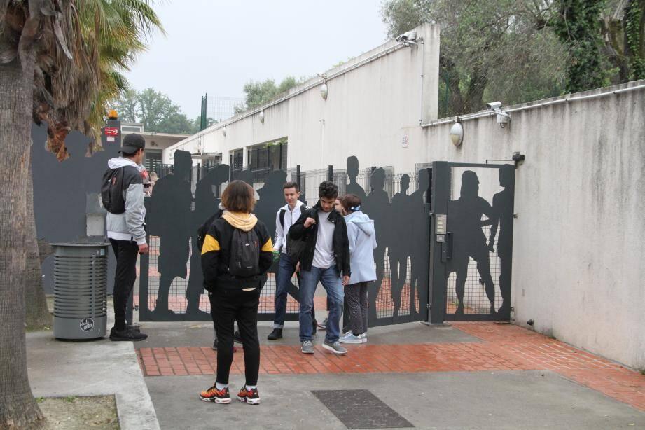 Le lycée Matisse de Vence.