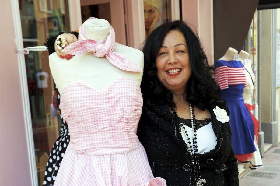 Créer des robes de pin-up? L'idée est venue à l'esprit de Patricia il y a douze ans, alors qu'elle rencontrait l'ambassadrice azuréenne du look rétro Krystie Red Sugar.