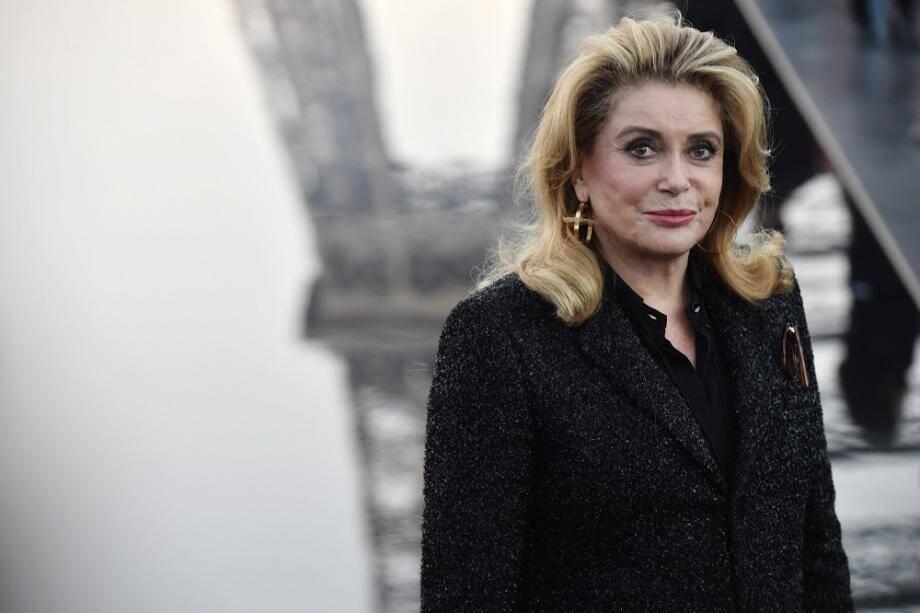 """Catherine Deneuve est à l'affiche de """"L'Adieu à la nuit"""" d'André́ Téchiné, leur huitième film ensemble."""