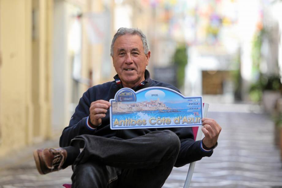 Président du rallye depuis près de 10 ans, l'Antibois se réjouit de voir l'épreuve battre un nouveau record de participants cette année.