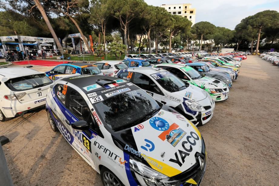175 pilotes sont engagés sur le rallye d'Antibes, cette année.