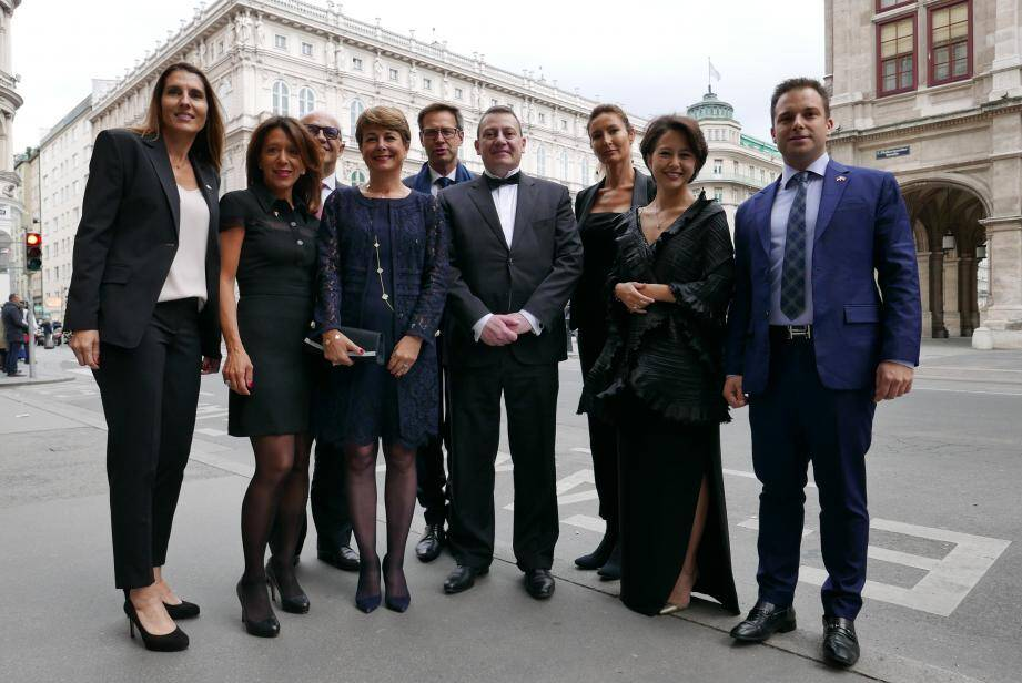 Ce lundi soir, la délégation du Monaco Economic Board, emmenée par Guillaume Rose, a assisté au concert de Cecilia Bartoli et les Musiciens du Prince au célèbre Musikverein de Vienne.