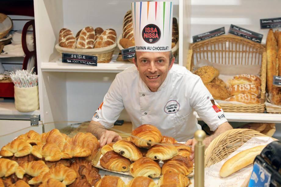Le boulanger niçois Frédéric Roy ne comprend pas le tacle appuyé de sa propre organisation professionnelle.