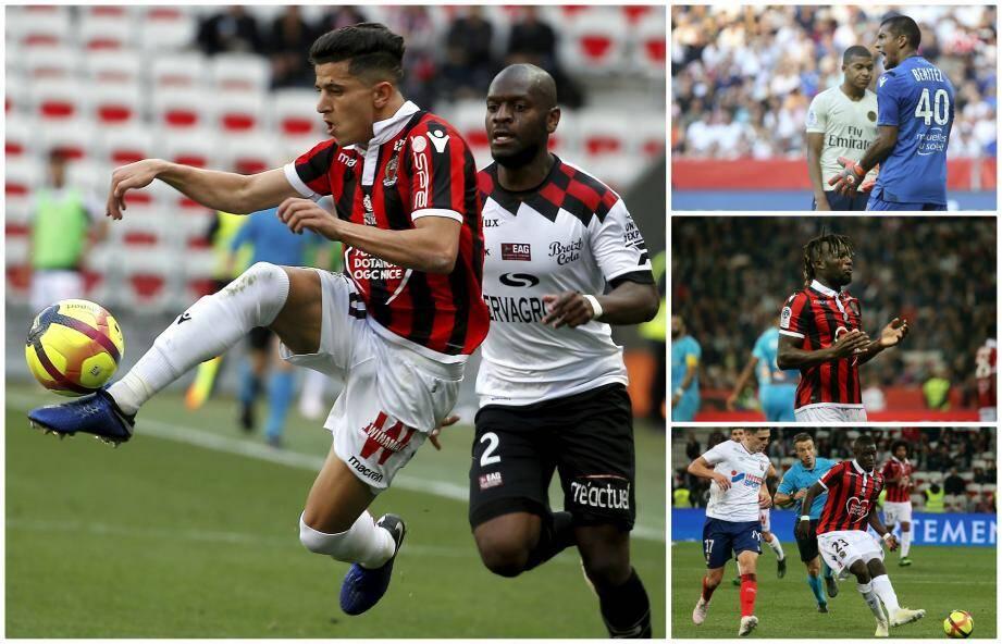 Youcef Atal et Allan Saint-Maximin ont des contrats de plus longue durée que Walter Benitez et Malang Sarr.