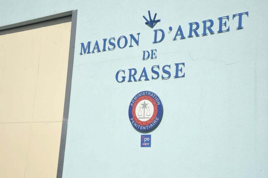 La maison d'arrêt de Grasse.