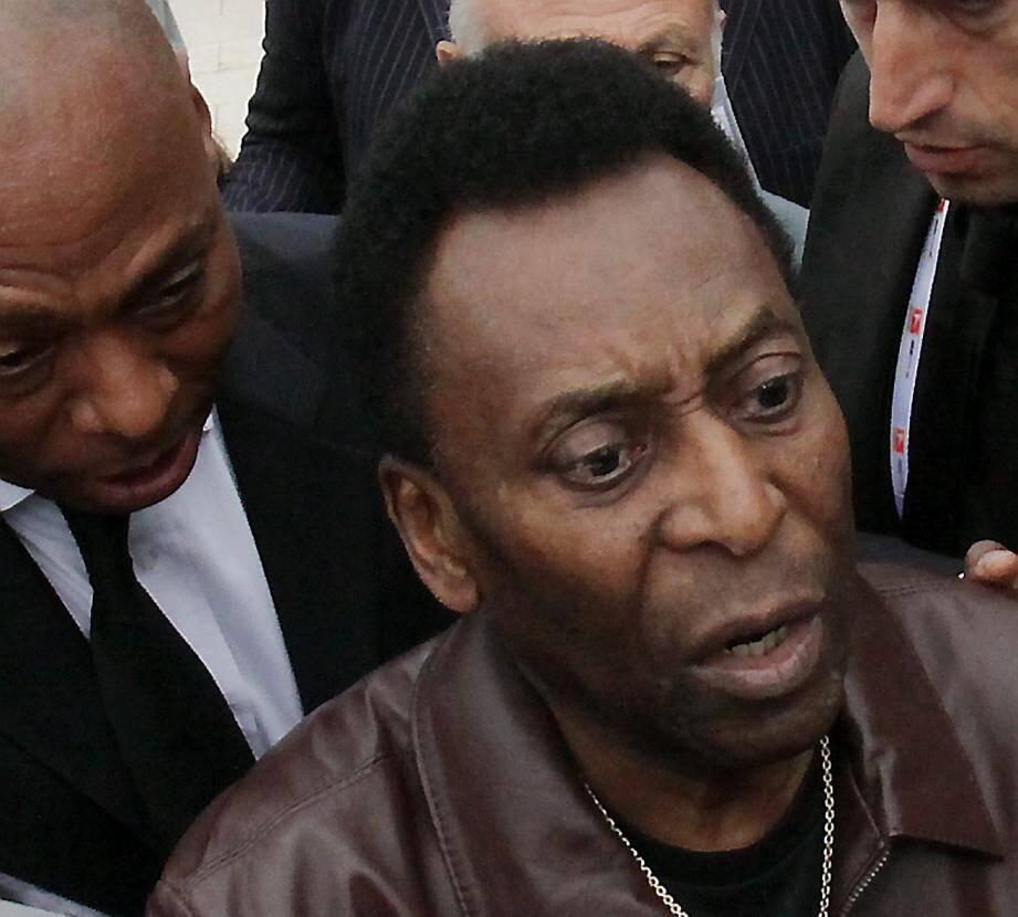 Le roi Pelé.