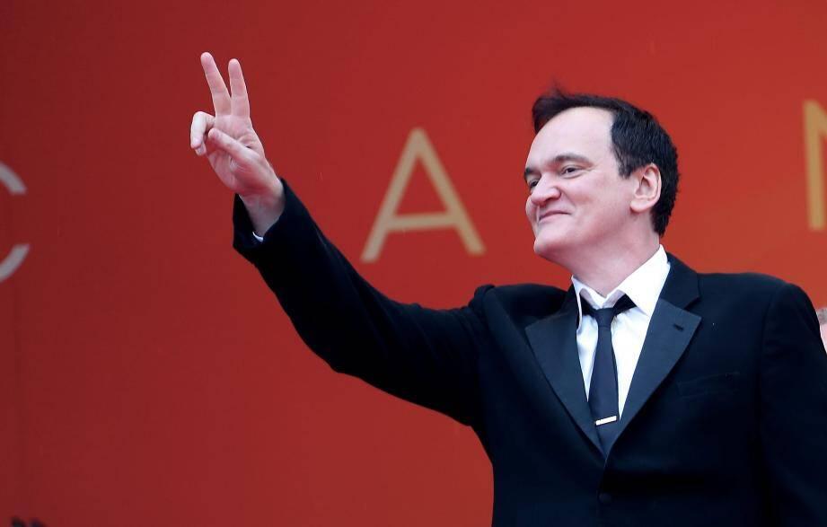 Quentin Tarantino au Festival de Cannes 2019.