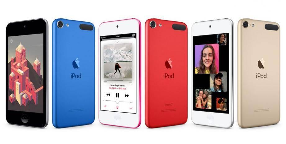 Le design des nouveaux iPod d'Apple, dévoilé ce mardi 28 mai.