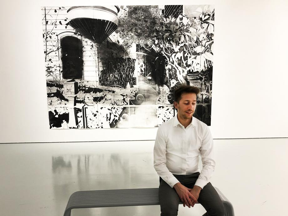 Un artiste à découvrir en ce moment à la galerie Espace A Vendre, rue Assalit à Nice: Maxime Duveau.