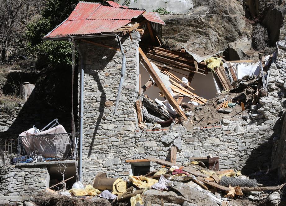 L'éboulement avait détruit un chalet et tué deux enfants en 2014 à Isola.