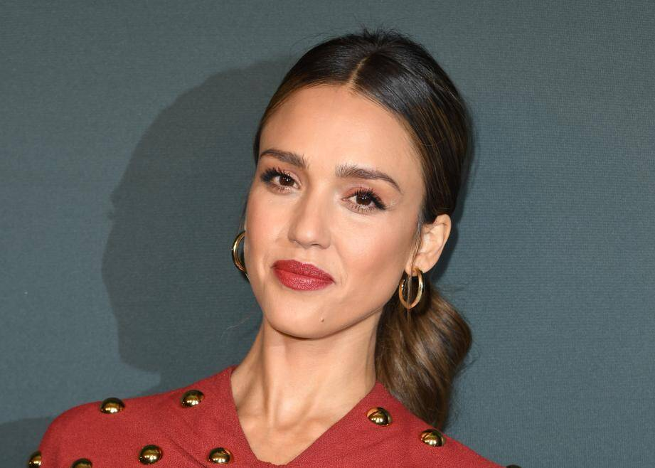 """US actress Jessica Alba arrives for the red carpet event of Spectrum Originals' new drama """"L.A.'s Finest"""" at the Sunset Tower hotel on May 10, 2019 in West Hollywood. (Photo by VALERIE MACON / AFP)"""
