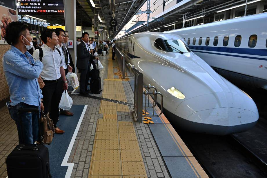 Une panne géante a touché plusieurs lignes de train au Japon, le 30 mai.