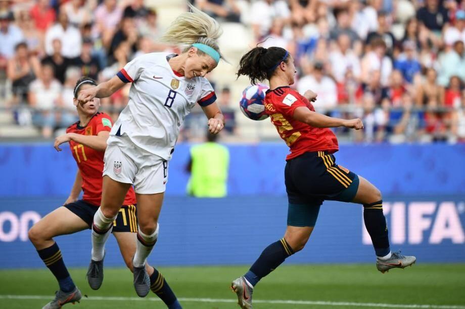 Les Américaines, malmenées jusqu'au dernier quart de jeu, ont finalement réussi à venir à bout de l'Espagne (2-1) grâce à deux pénalties.