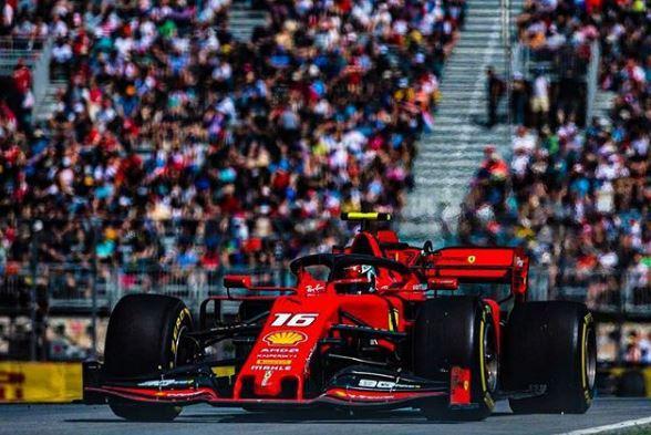 Charles Leclerc au GP du Canada