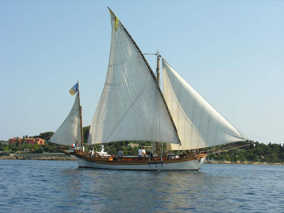 Le voilier « Santo Sospir » sera à Menton, exceptionnellement pour les Journées de la mer