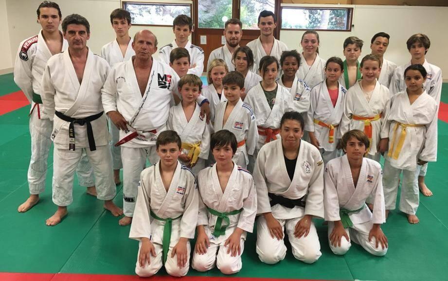 Les jeunes judokas ont réalisé de jolies performances sur les tatamis.