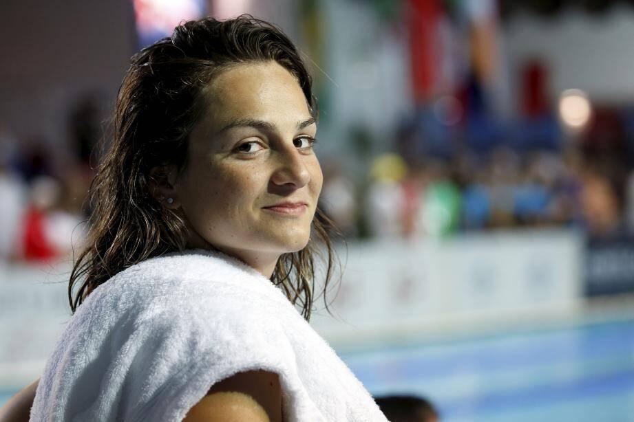 Béryl Gastaldello a pris la 4e place hier du 50m nl, après sa médaille d'argent la veille sur le 100m papillon.