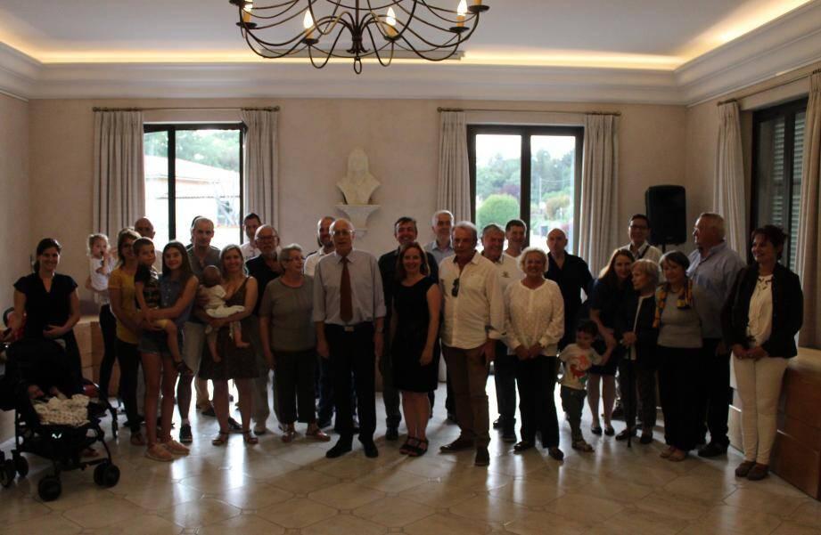 Les nouvelles familles roquefortoises reçues en mairie.