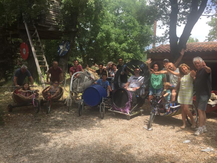 Atelier « préparation des tonneaux » chez Elysabeth et Eric. La course est organisée samedi 29 juin et les inscriptions sont ouvertes.