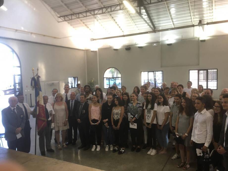 Les lauréats réunis aux espaces du Fort Carré.