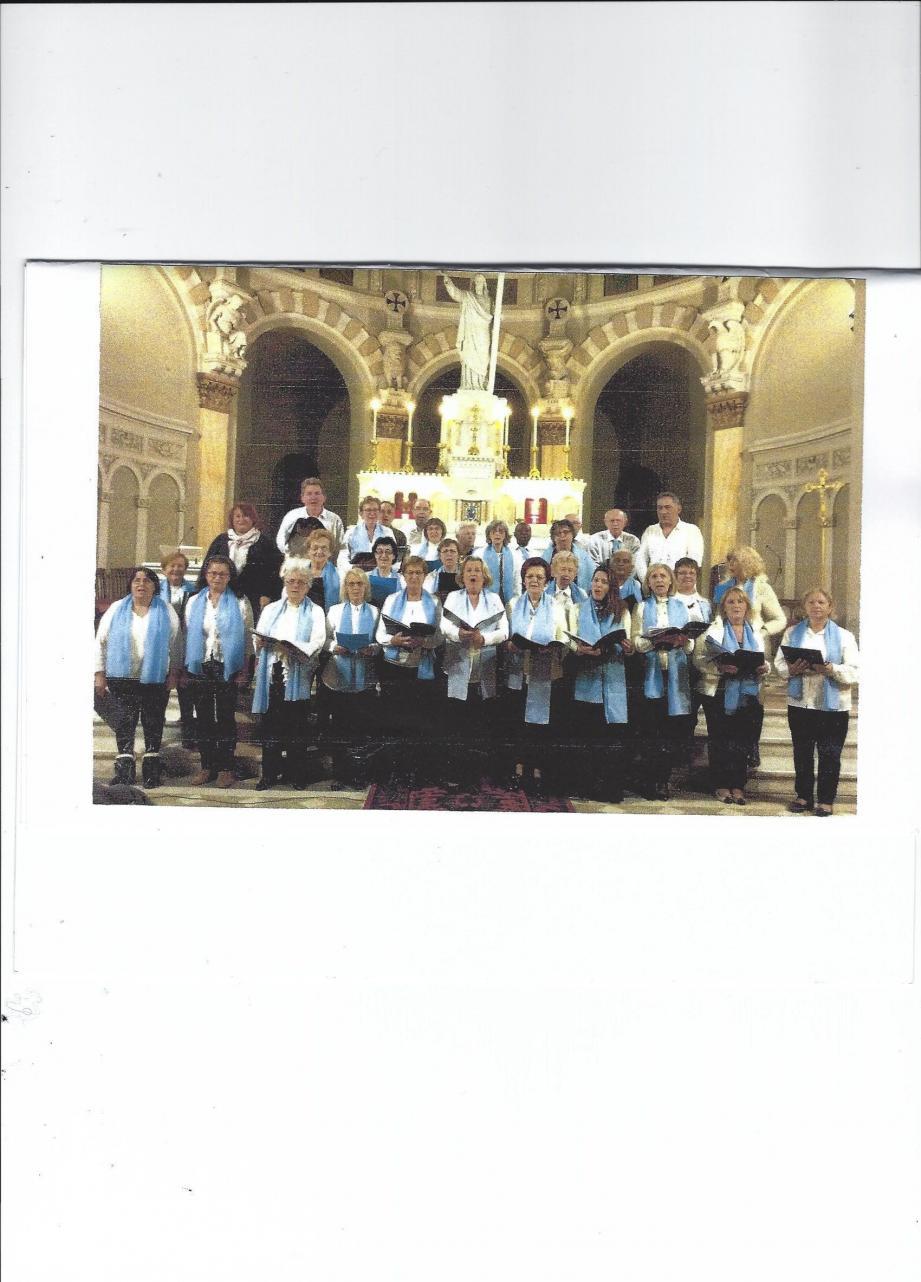 La chorale Notre-Dame des Rencontres.(DR)