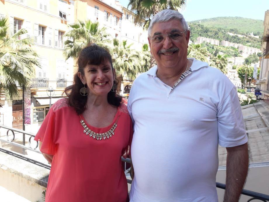 Sylvie Fouques et Serge Darmo.