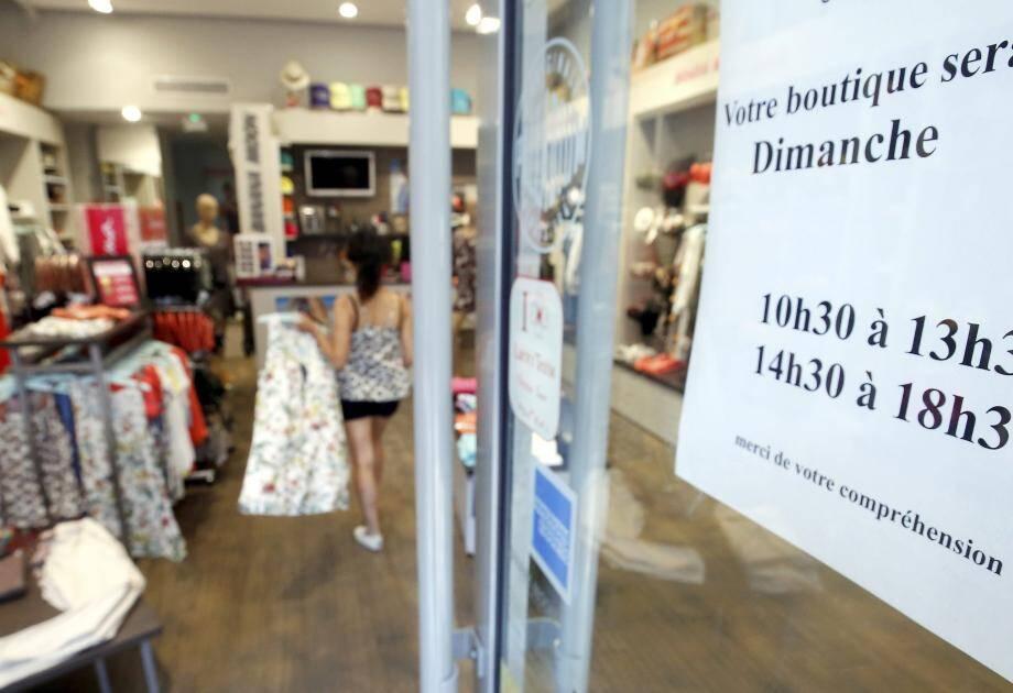 En plus des périodes de fêtes et de soldes, la possibilité d'ouvrir son commerce le dimanche sera désormais étendue.