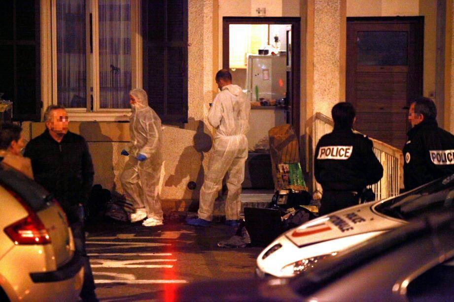 L'horreur, à Cagnes-sur-Mer, le jour du meurtre, le 25 novembre 2016, dans un appartement de l'avenue de Verdun.